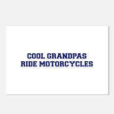 cool-grandpas-ride-motorcycles-fresh-blue Postcard