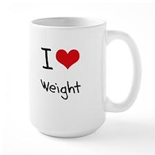 I love Weight Mug