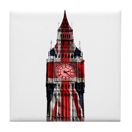 Big Ben London Tile Coaster