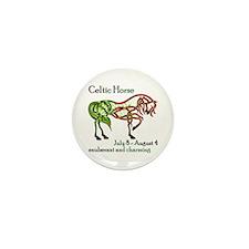 Celtic Horse Mini Button (100 pack)