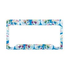 Mexican Sugar Skulls License Plate Holder