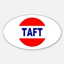 Taft Oval Decal