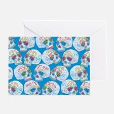 Mexican Sugar Skulls Greeting Card
