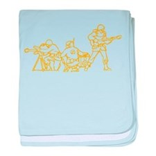 Army band baby blanket