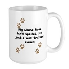 Well Trained Lhasa Apso Owner Mug