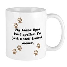 Well Trained Lhasa Apso Owner Small Small Mug
