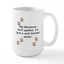 Well Trained Havanese Owner Mug