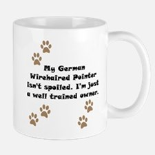 Well Trained German Wirehaired Pointer Owner Small