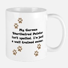 Well Trained German Shorthaired Pointer Owner Smal