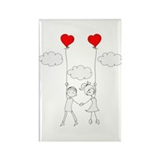 In Love Rectangle Magnet (100 pack)
