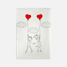 In Love Rectangle Magnet (10 pack)