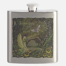 The Secret Garden Flask