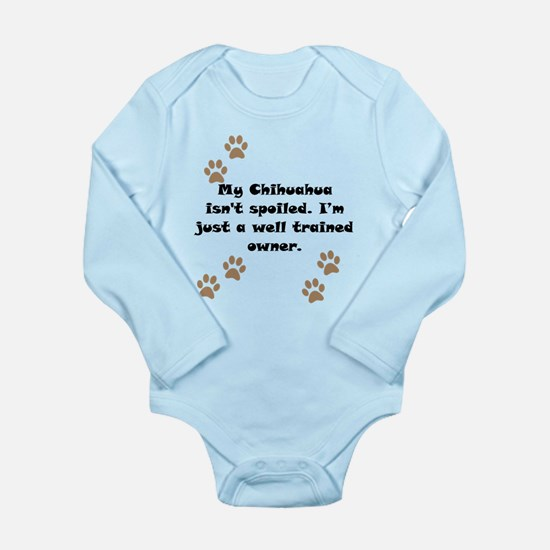 Well Trained Chihuahua Owner Body Suit
