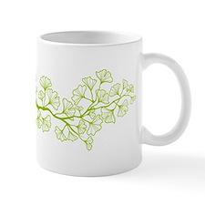 ginkgo tree with green leaves Mug