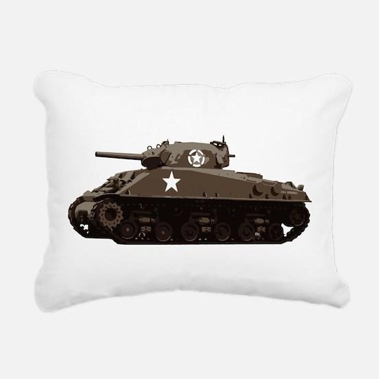 M4 Sherman Rectangular Canvas Pillow