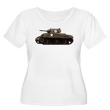 M4 Sherman Plus Size T-Shirt