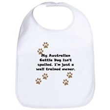 Well Trained Australian Cattle Dog Owner Bib