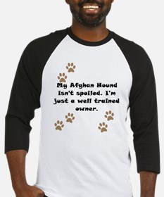 Well Trained Afghan Hound Owner Baseball Jersey