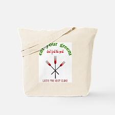Don't fork the Pork Tote Bag