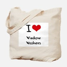 I love Window Washers Tote Bag