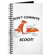 Don't Commute (Orange) Journal