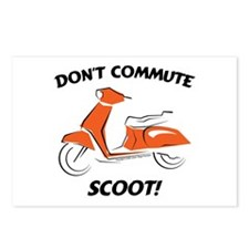 Don't Commute (Orange) Postcards (Package of 8)