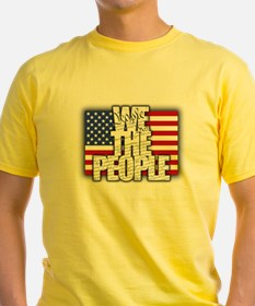 WE THE PEOPLE with Flag T-Shirt