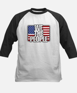 WE THE PEOPLE with Flag Baseball Jersey