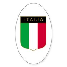Italia Oval Decal