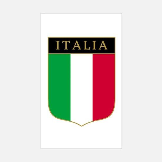 Italia Rectangle Decal