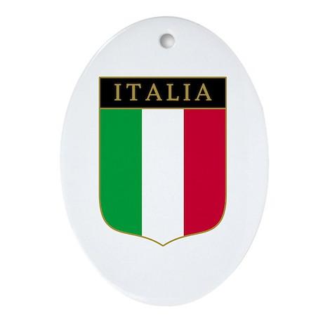 Italia Oval Ornament