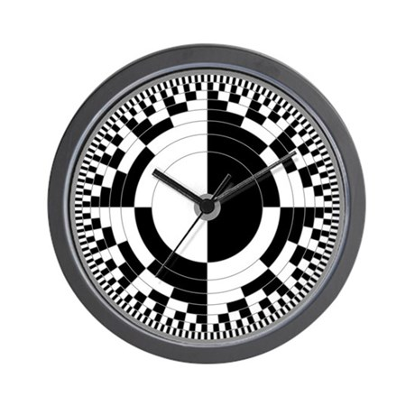 True Binary Time Wall Clock