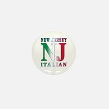 New Jersey Italian Mini Button (10 pack)