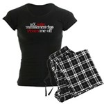 Anger Management Class Women's Dark Pajamas