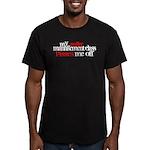Anger Management Class Men's Fitted T-Shirt (dark)