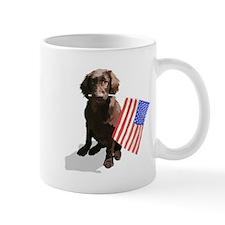 4th of July pup Small Mug