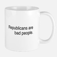 Republicans are bad people Mug