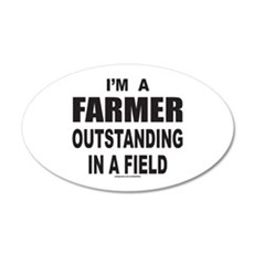 I'M A FARMER Wall Decal