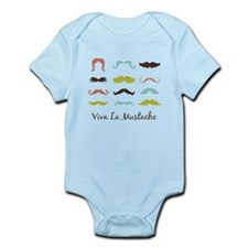 Viva La Mustache Body Suit