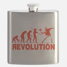 Revolution is following me Flask