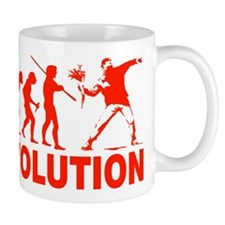 Revolution is following me Mug
