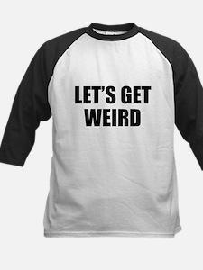 Let's Get Weird Kids Baseball Jersey