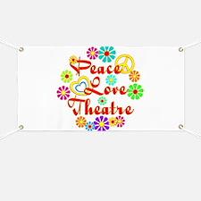 Peace Love Theatre Banner