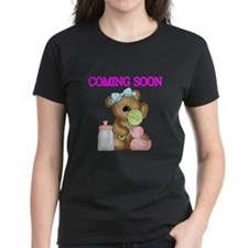 COMING SOON WITH TEDDY BEAR T-Shirt