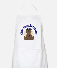 CHILD ABUSE AWARENESS WITH TEDDY BEAR Apron