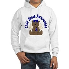 CHILD ABUSE AWARENESS WITH TEDDY BEAR Hoodie