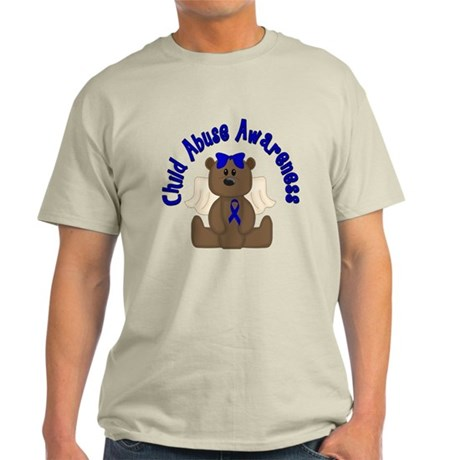 CHILD ABUSE AWARENESS WITH TEDDY BEAR T-Shirt