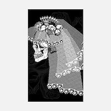 Skull Bride Decal