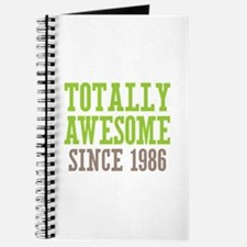 Totally Awesome Since 1986 Journal