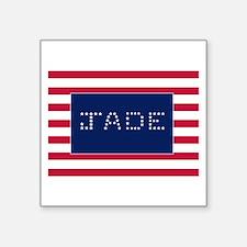 "JADE Square Sticker 3"" x 3"""